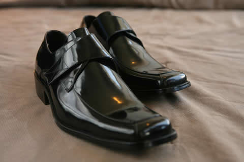 groom shoes by gucci