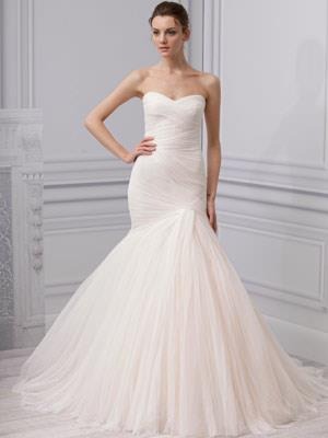 Wedding Dress Trends 2013, Mermaid Silhouettes